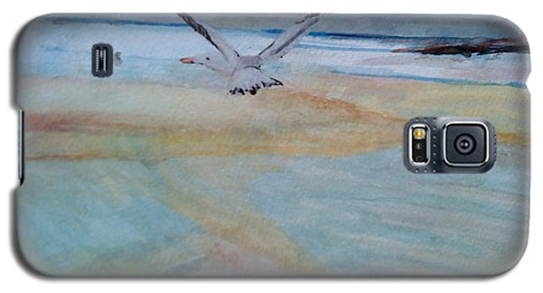 Gull In Flight Galaxy S5 Case