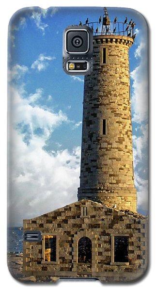 Gull Island Lighthouse Galaxy S5 Case