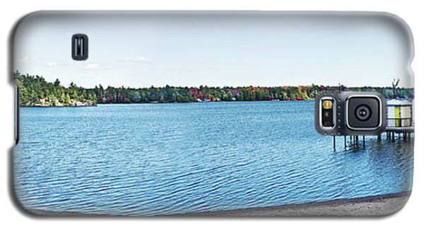 Gull Lake Panorama Galaxy S5 Case