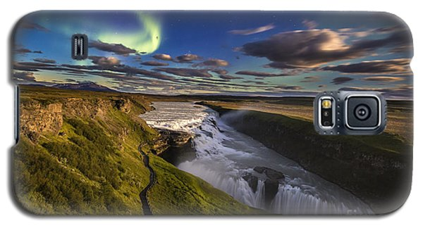 Gullfoss Iceland Galaxy S5 Case