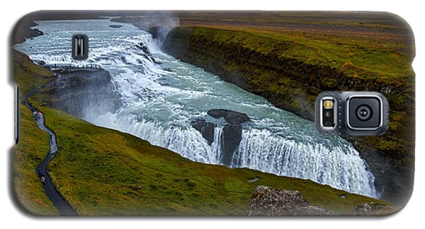 Gullfoss Waterfall #2 - Iceland Galaxy S5 Case