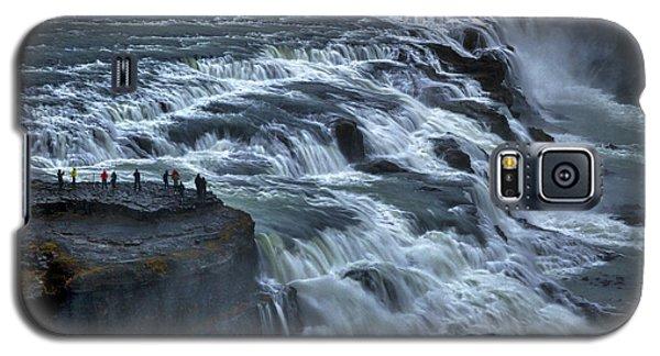 Gullfoss Waterfall #6 - Iceland Galaxy S5 Case
