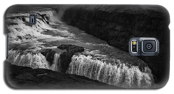 Gullfoss Waterfall Galaxy S5 Case by Nancy Dempsey