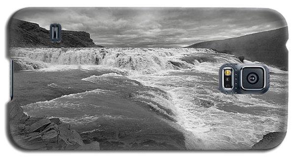Galaxy S5 Case featuring the photograph Gullfoss Waterfall No. 1 by Joe Bonita