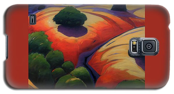 Galaxy S5 Case featuring the painting Gully by Gary Coleman