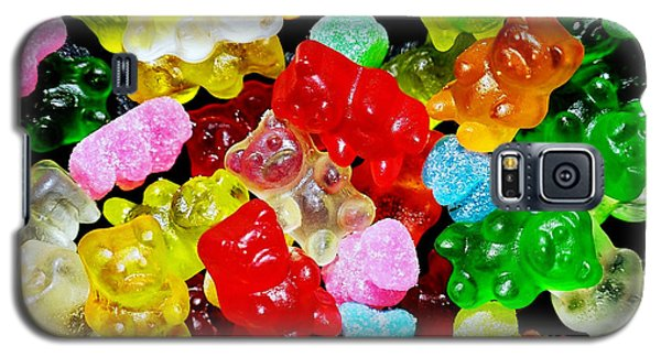 Galaxy S5 Case featuring the photograph Gummy Bears by Vivian Krug Cotton