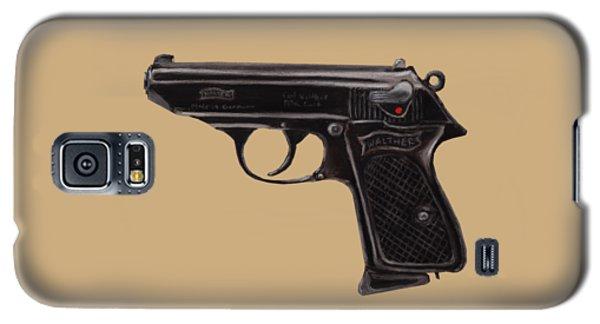 Gun - Pistol - Walther Ppk Galaxy S5 Case