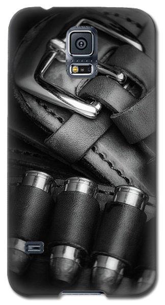 Galaxy S5 Case featuring the photograph Gunbelt by Tom Mc Nemar
