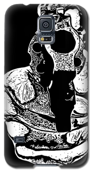 Gunman T-shirt Galaxy S5 Case