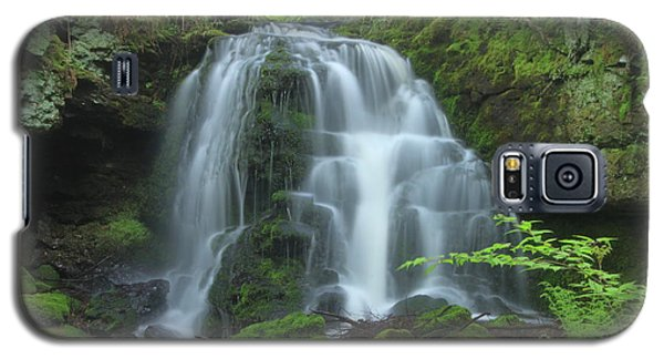 Gunn Brook Slip Dog Falls Mount Toby Galaxy S5 Case by John Burk