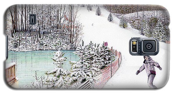 Gunnar Slope And The Ducky Pond Galaxy S5 Case by Albert Puskaric