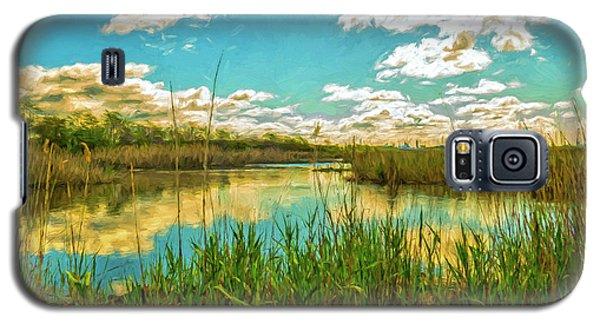 Gunnel Oval By Paint Galaxy S5 Case