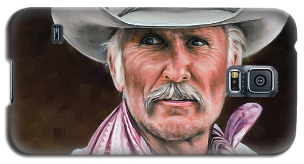 Galaxy S5 Case featuring the painting Gus Mccrae Texas Ranger by Rick McKinney