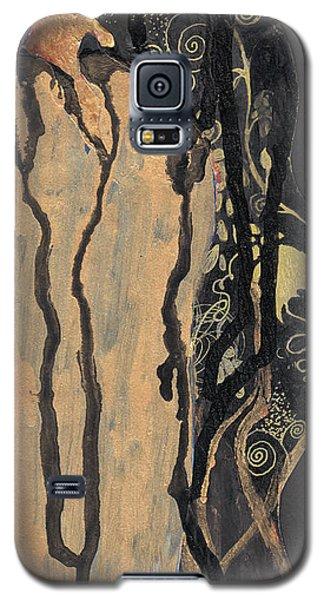 Galaxy S5 Case featuring the painting Gustav Klimt's Tears by Maya Manolova