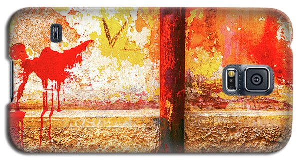 Galaxy S5 Case featuring the photograph Gutter And Decayed Wall by Silvia Ganora