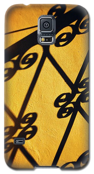 Galaxy S5 Case featuring the photograph Gutter And Ornate Shadows by Silvia Ganora