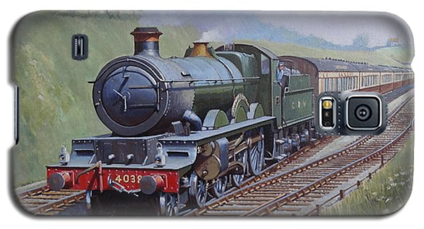 Galaxy S5 Case featuring the painting Gwr Saint Class by Mike  Jeffries