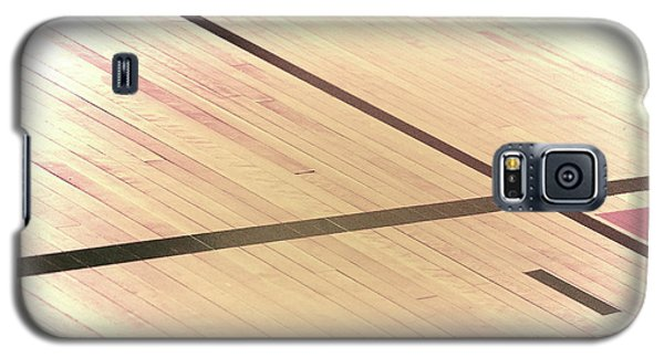 Gym Floor Galaxy S5 Case