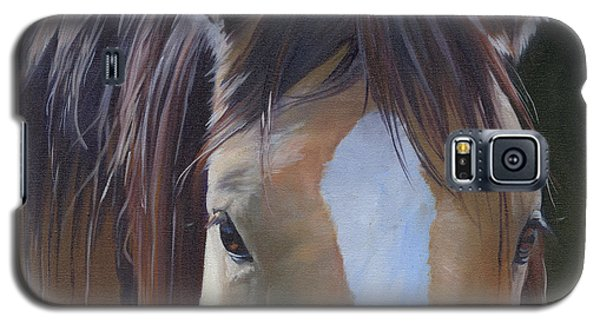 Galaxy S5 Case featuring the painting Gypsy Eyes by Alecia Underhill