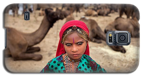 Gypsy Girl Galaxy S5 Case