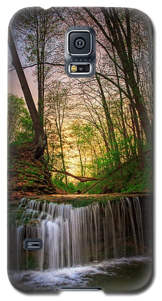Gypsy Glen  Rd Waterfall  Galaxy S5 Case