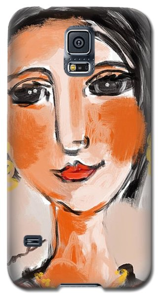 Gypsy Lady Galaxy S5 Case by Elaine Lanoue