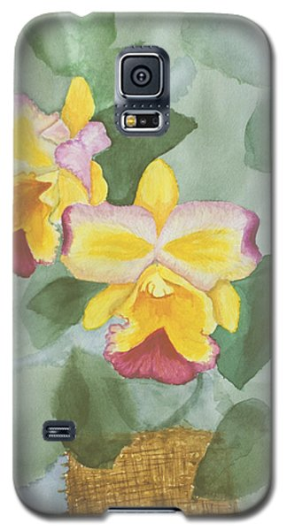 Gypsy Orchids Galaxy S5 Case