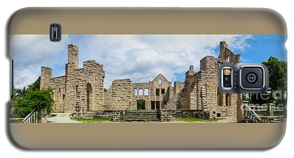 Ha Ha Tonka Castle Panorama Galaxy S5 Case by Jennifer White