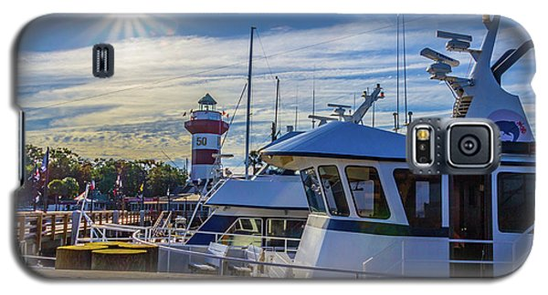 Habour Town Lighthouse And Marina Galaxy S5 Case