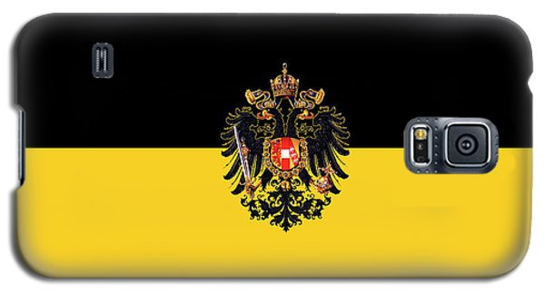 Habsburg Flag With Imperial Coat Of Arms 3 Galaxy S5 Case