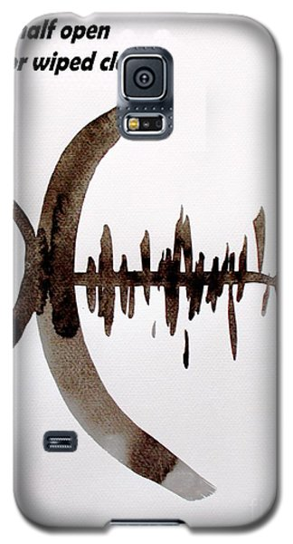 Galaxy S5 Case featuring the painting Haiku Painting And Painting by Roberto Prusso