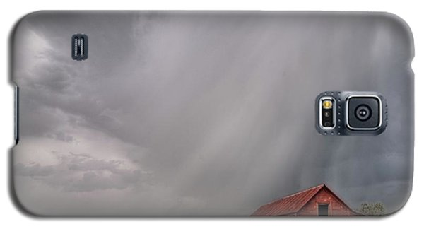 Hail Shaft And Montana Barn Galaxy S5 Case