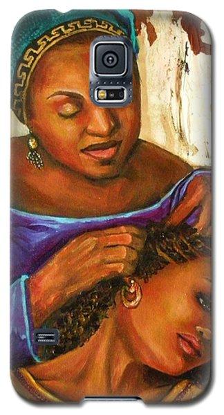 Hair Braiding Galaxy S5 Case by Alga Washington