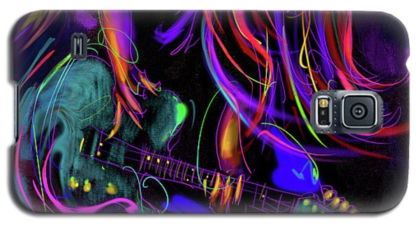 Hair Guitar 2 Galaxy S5 Case