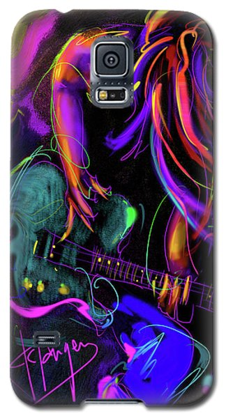 Hair Guitar 2 Galaxy S5 Case by DC Langer