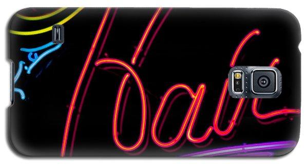 Hair In Neon Galaxy S5 Case