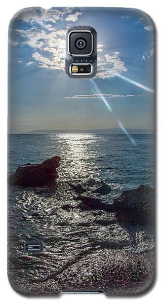 Haitian Beach In The Late Afternoon Galaxy S5 Case