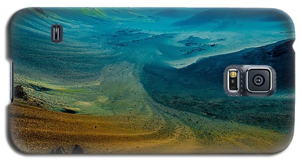 Galaxy S5 Case featuring the photograph Haleakala by M G Whittingham