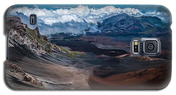 Haleakala Crater Galaxy S5 Case
