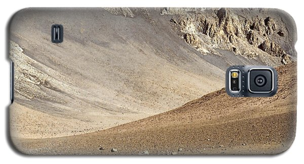 Galaxy S5 Case featuring the painting Haleakala Crater Floor by Peter J Sucy