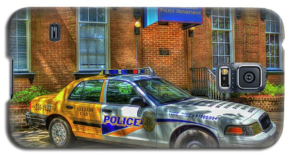 Galaxy S5 Case featuring the photograph Half And Half What Is It Manna Savannah Georgia Police Art by Reid Callaway