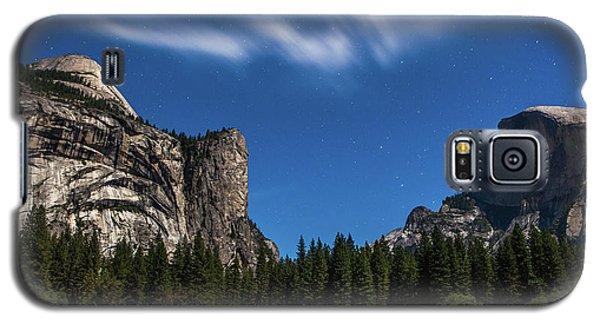 Half Dome And Moonlight - Yosemite Galaxy S5 Case
