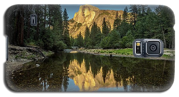 Half Dome From  The Merced Galaxy S5 Case by Peter Tellone