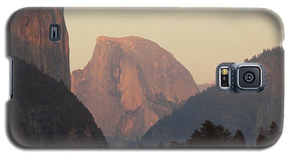 Galaxy S5 Case featuring the photograph Half Dome Rising In Distance by Max Allen