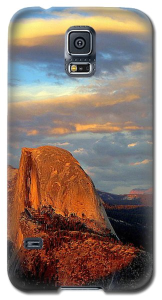 Half Dome Sunset Colorful Clouds Vertical Galaxy S5 Case