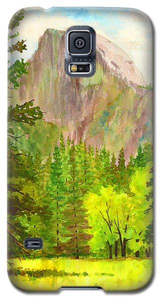Half Dome With Trees Galaxy S5 Case