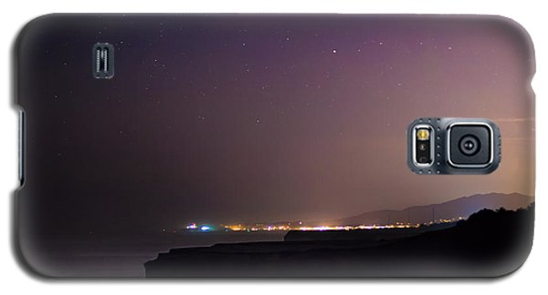 Half Moon Bay Aglow Galaxy S5 Case