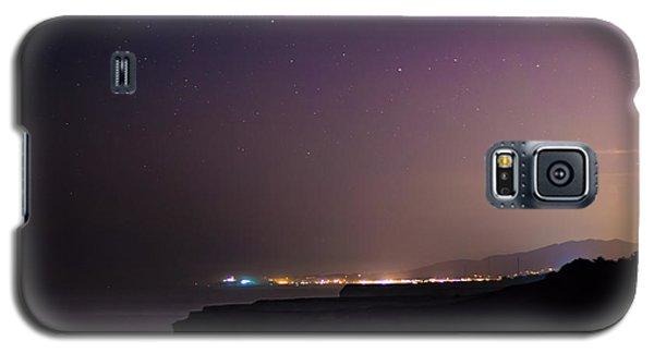 Half Moon Bay Aglow Galaxy S5 Case