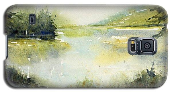 Half Moon Pond Galaxy S5 Case