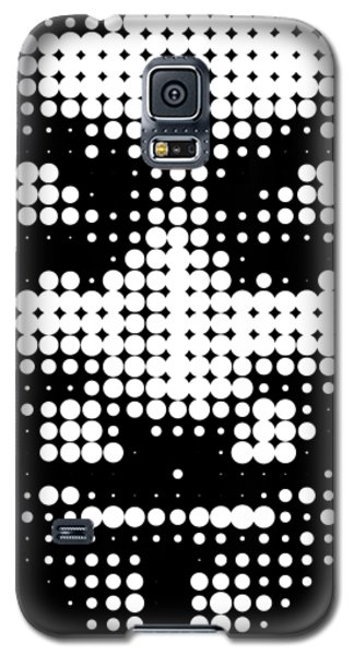 Halftone Anonymous Face  Galaxy S5 Case